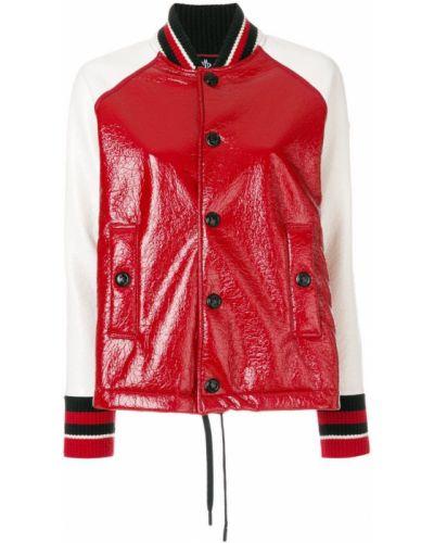 Красная куртка Moncler Grenoble