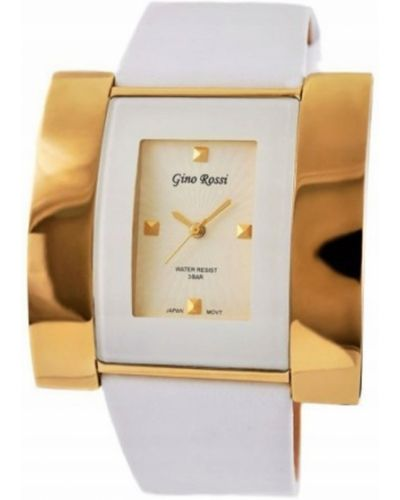 Zegarek na skórzanym pasku skórzany Gino Rossi