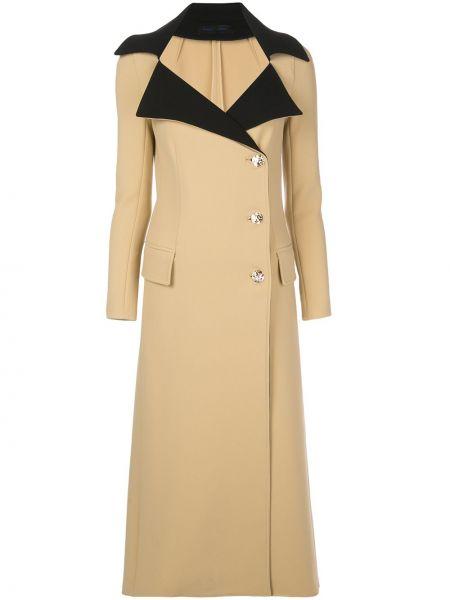 Długi płaszcz wełniany z kieszeniami Proenza Schouler