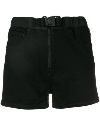 Черные шорты с карманами Versus