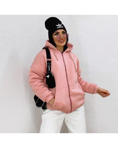 Толстовка на молнии - розовая Remise Store