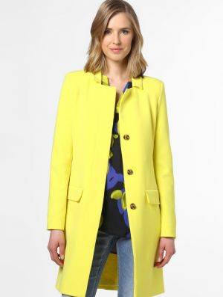Żółty płaszcz Rino & Pelle