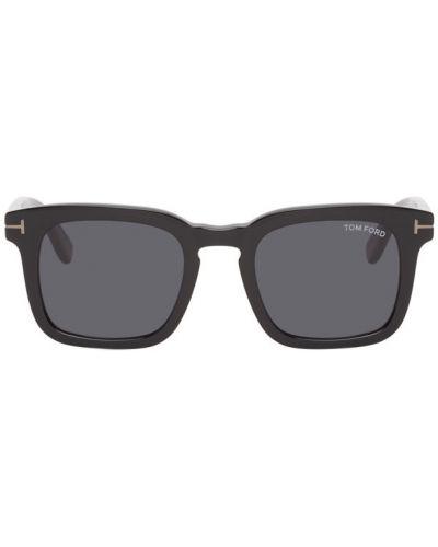 Aksamit czarny okulary przeciwsłoneczne plac Tom Ford