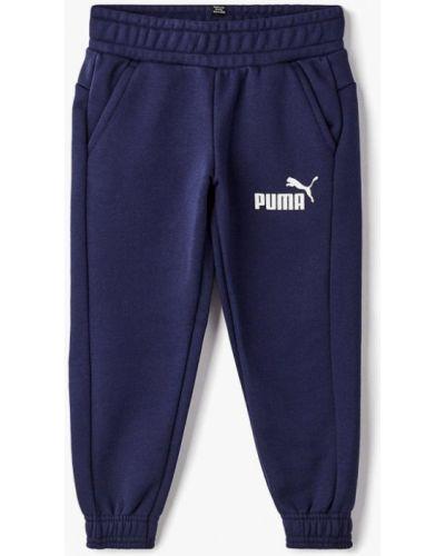 Синие брюки спортивные Puma