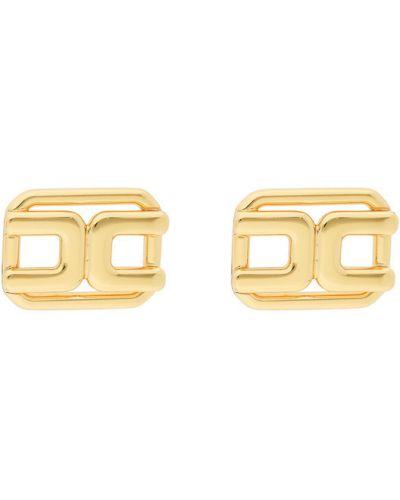 Żółte złote kolczyki ze złota Elisabetta Franchi