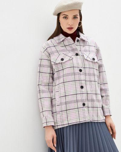 Розовое пальто B.style