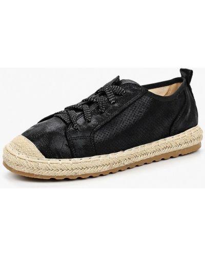 Черные ботинки из нубука Super Mode