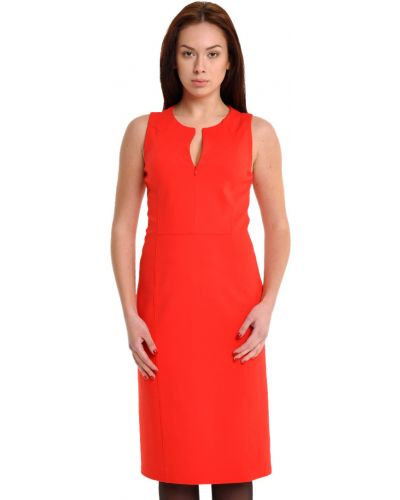 Коралловое платье Armani Collezioni