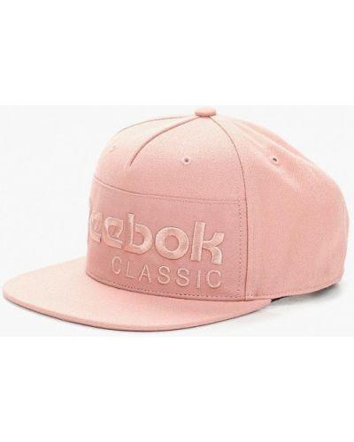 Розовая кепка Reebok Classics