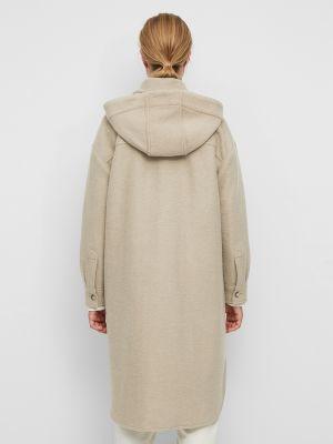 Шерстяное пальто - бежевое Marc O'polo Denim