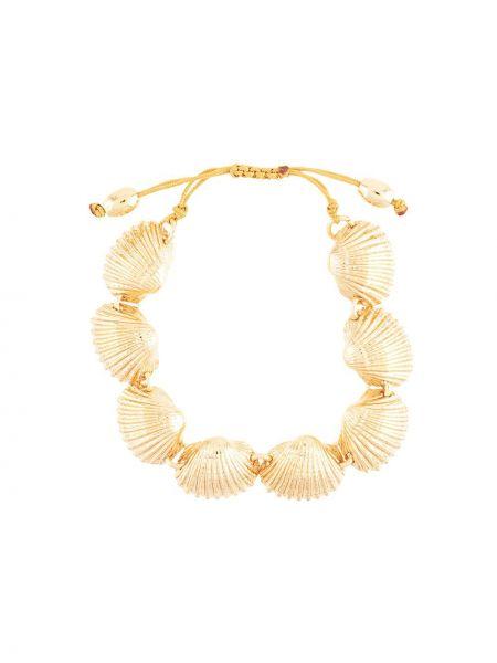 Złota bransoletka ze złota na plażę Tohum