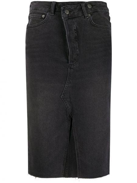 Юбка миди джинсовая с завышенной талией Boyish Denim