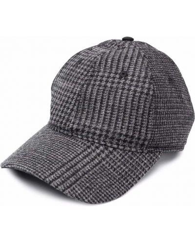 Czarna czapka z daszkiem Mcq