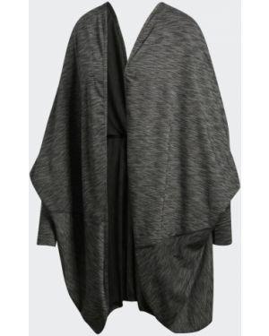 Пончо коричневый Adidas