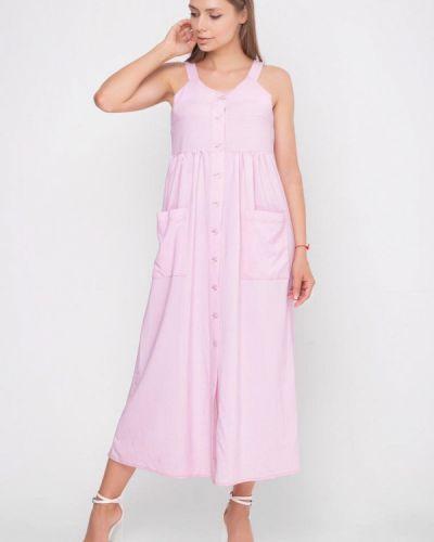 Розовый сарафан Sfn