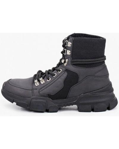 Кожаные ботинки - черные Kazar Studio