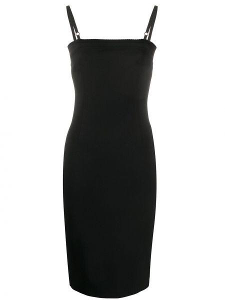 Sukienka o prostym kroju czarny Dolce & Gabbana Pre-owned