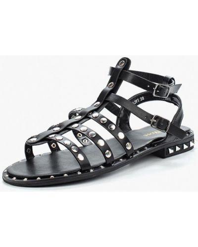 Черные сандалии Damerose