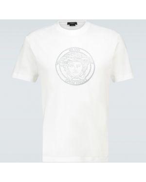 Koszula z logo sport Versace