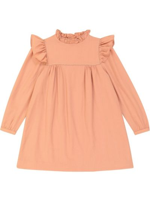 Шерстяное платье - розовое Bonpoint