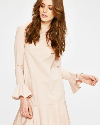 Платье мини однотонное свободного кроя Answear