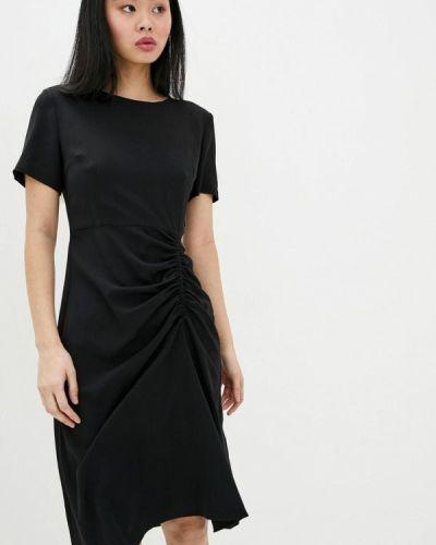 Прямое черное платье Miss Sixty