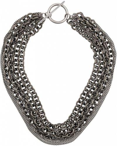 Ожерелье серебряный Ann Demeulemeester