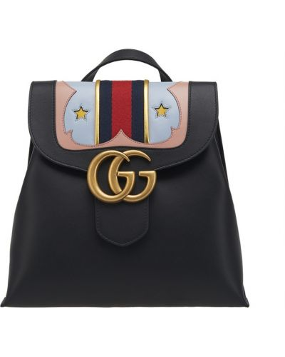 Черный рюкзак Gucci