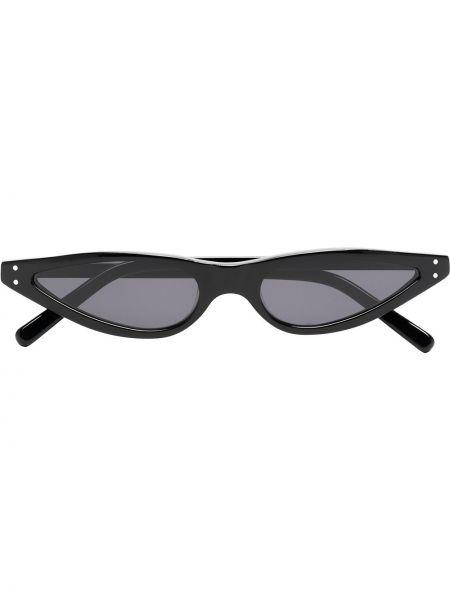 Прямые муслиновые черные солнцезащитные очки George Keburia