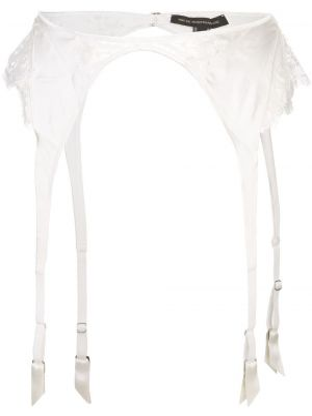 Белые колготки из вискозы с поясом Kiki De Montparnasse
