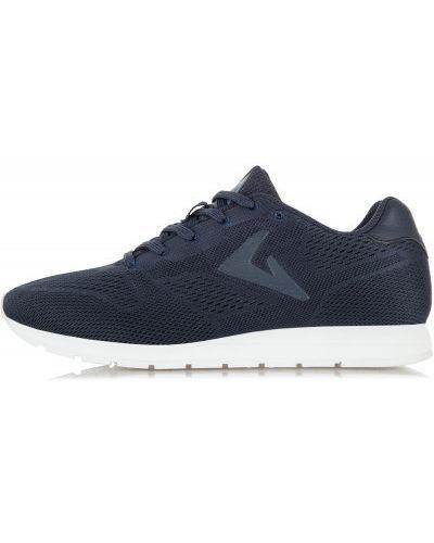 Синие кроссовки на шнуровке Demix