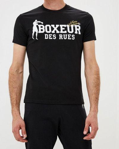 Футболка черная турецкий Boxeur Des Rues