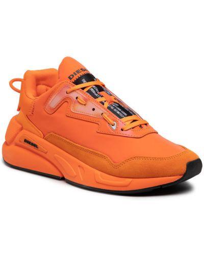 Pomarańczowe sneakersy Diesel