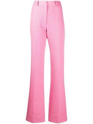 Брюки с завышенной талией - розовые Victoria Beckham