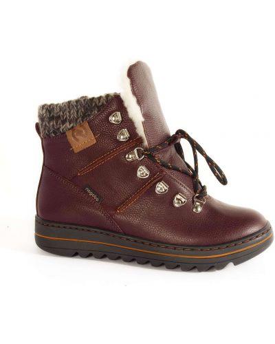 Ботинки - бордовые Nagaba