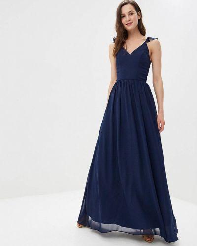 Платье синее Chi Chi London