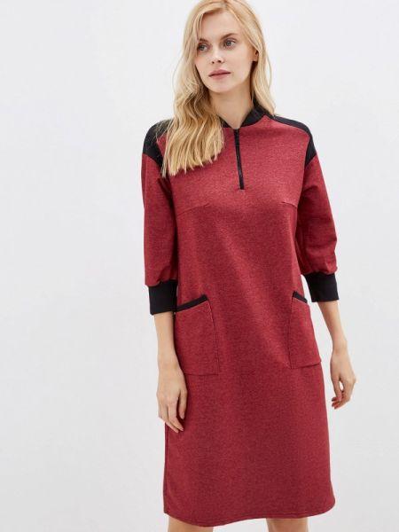 Платье бордовый красный Tenerezza