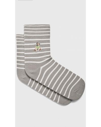Хлопковые носки - серые Fulloff