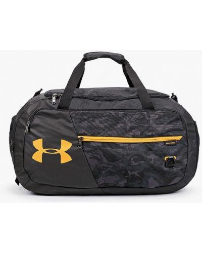 Спортивная черная текстильная спортивная сумка Under Armour