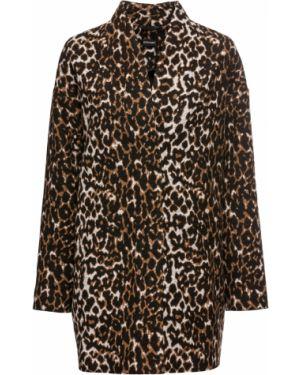 Куртка черная леопардовая Bonprix