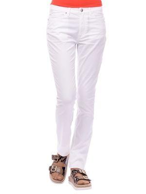 Хлопковые брюки - белые Marina Yachting