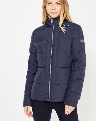 Зимняя куртка осенняя синий Trussardi Collection