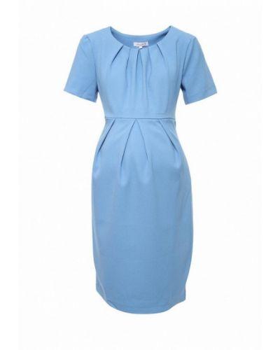 Голубое платье весеннее Mammysize