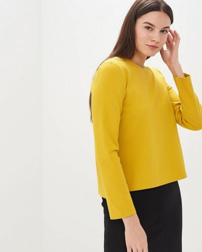 Блузка с длинным рукавом желтый Galina Vasilyeva