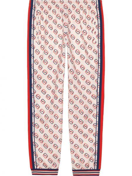 Bawełna bawełna biały majtki do biegania Gucci