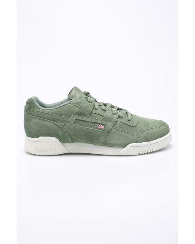 Зеленые кроссовки Reebok