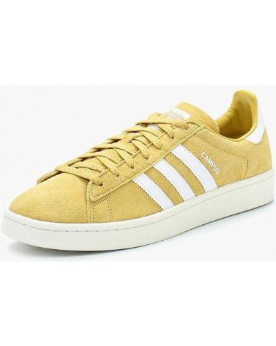 Желтые кеды Adidas Originals
