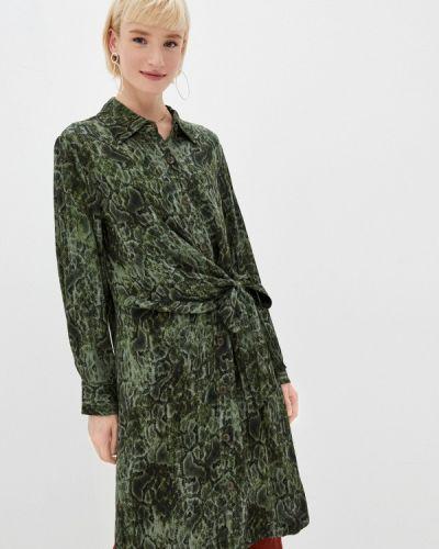 Зеленое платье-рубашка Lezzarine