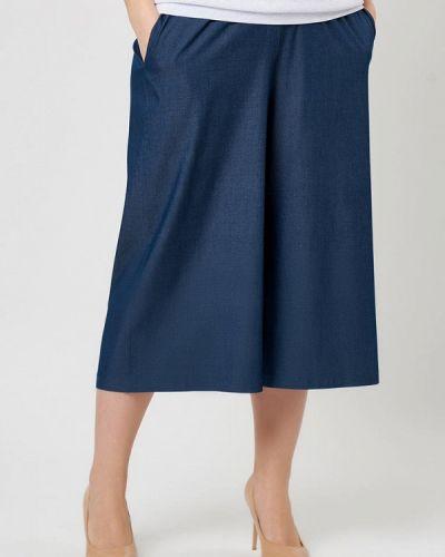 Свободные брюки расклешенные весенний Lina