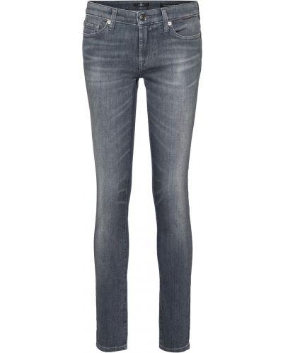 Хлопковые джинсы 7 For All Mankind